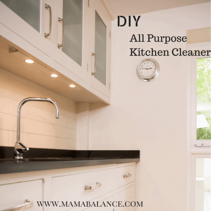 DIY All Purpose Kitchen Cleaner