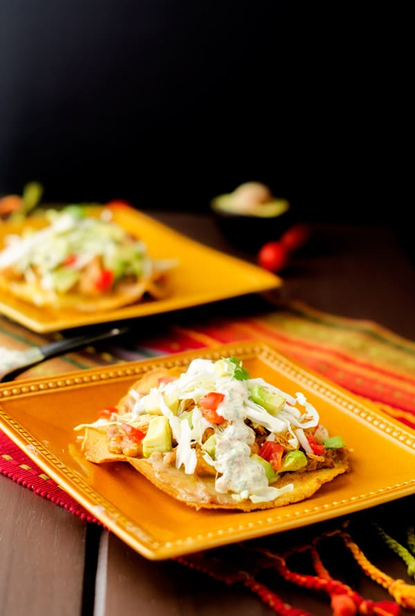 chicken-bean-tostadas-3