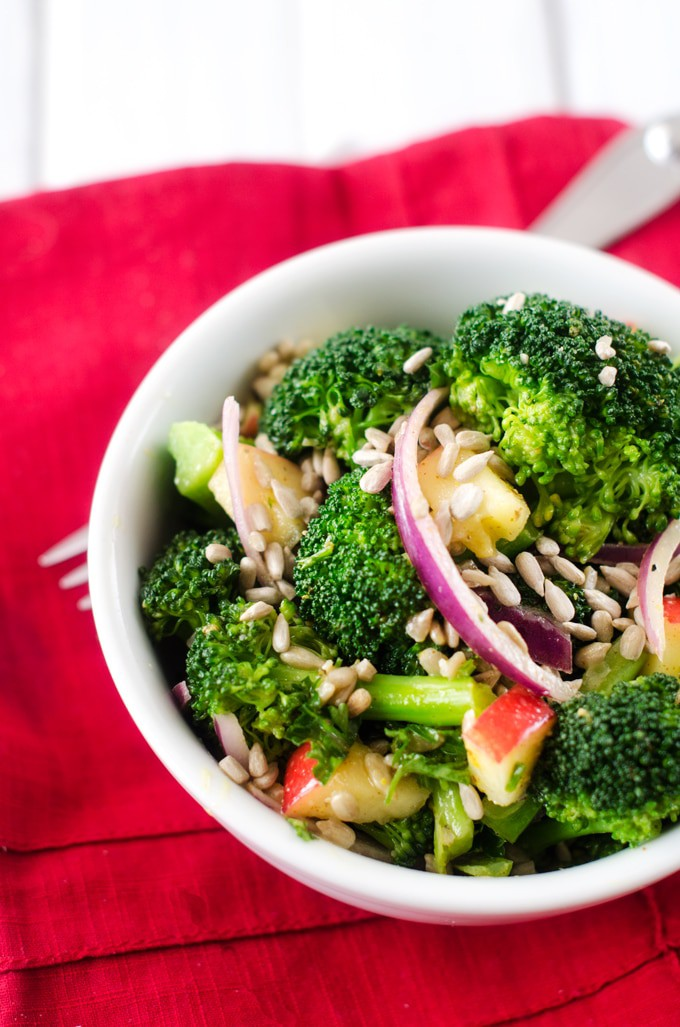 Sweet Mustard Broccoli Salad