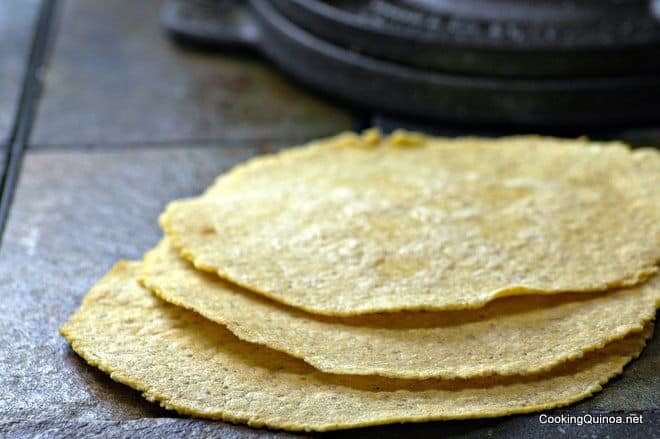 quinoa-corn-tortillas