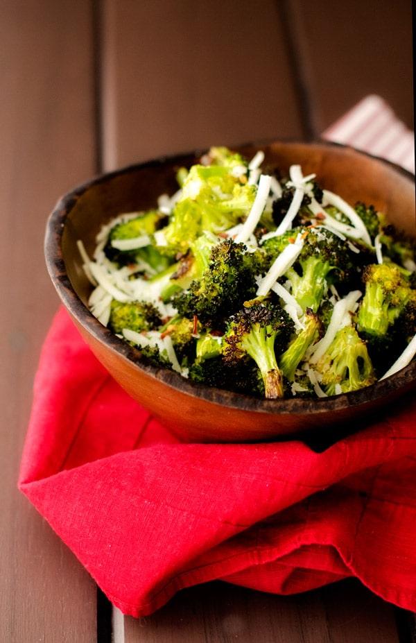Garlic Roasted Broccoli - WendyPolisi.com