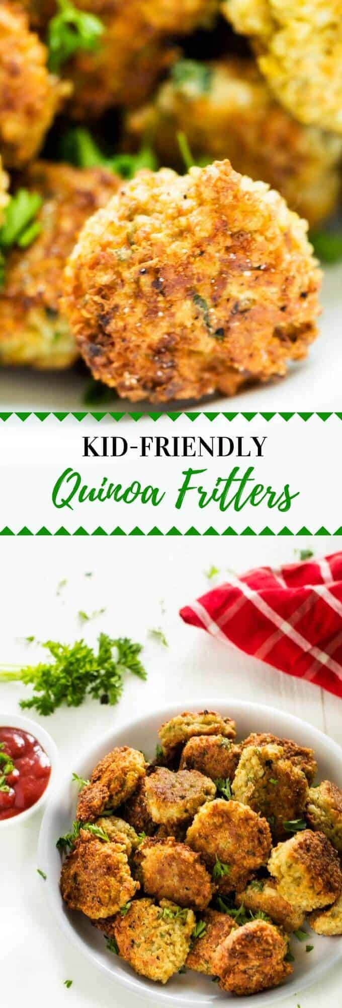 Kid friendly quinoa fitters quinoa recipes for kids these kid friendly quinoa fritters are one of my favorite quinoa recipes for kids the forumfinder Choice Image