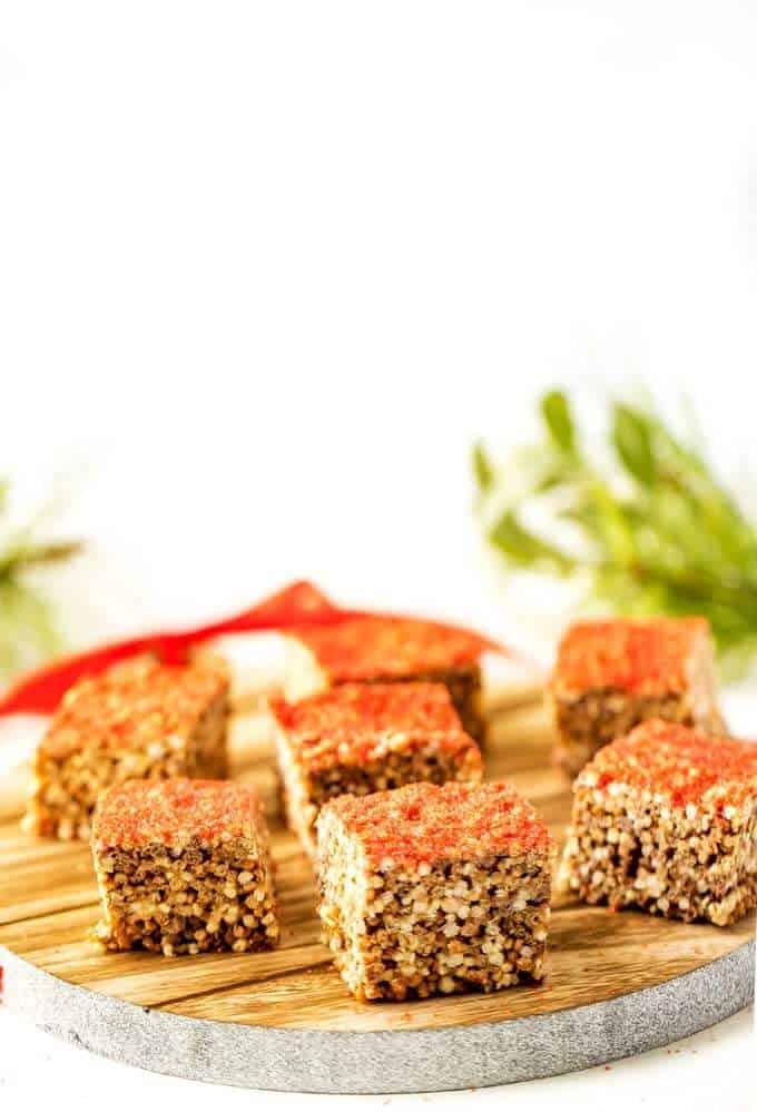 Side photo of Quinoa Crispy Treats