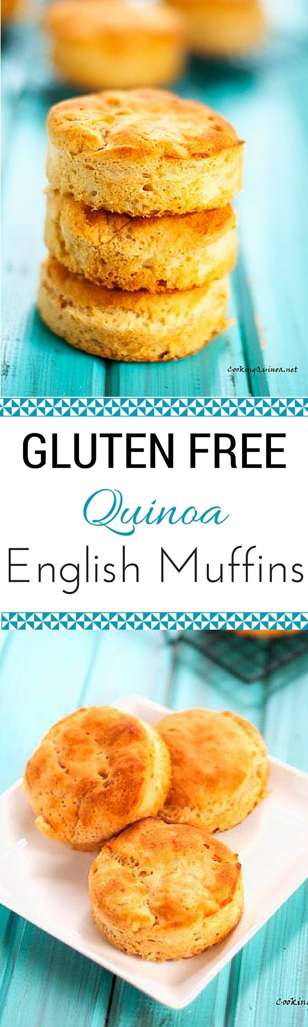 Gluten Free Quinoa English Muffins - It is hard to believe these English Muffins are gluten free.  They are a family favorite!  I have to make a double batch and freeze.  So good! - WendyPolisi.com