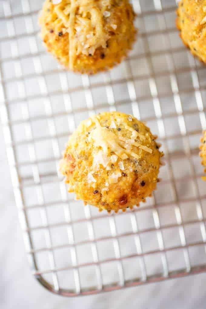Photo of Gluten Free Corn Muffins Close Up