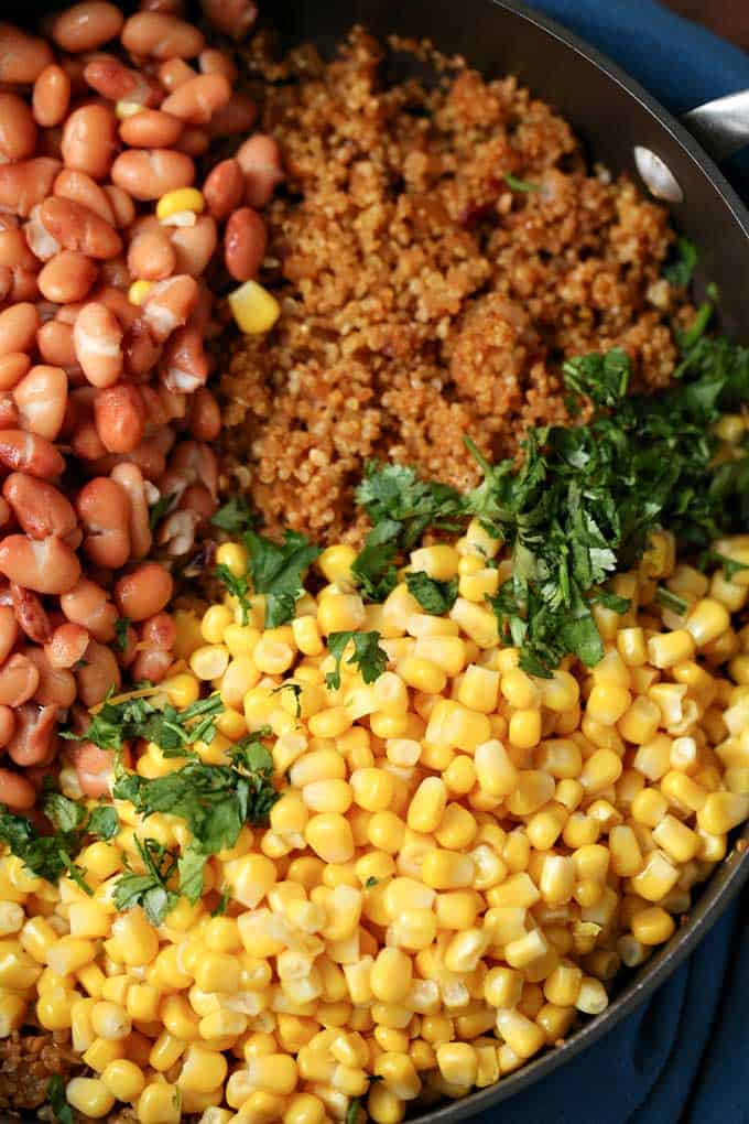 Quinoa Taco Salad Bowl