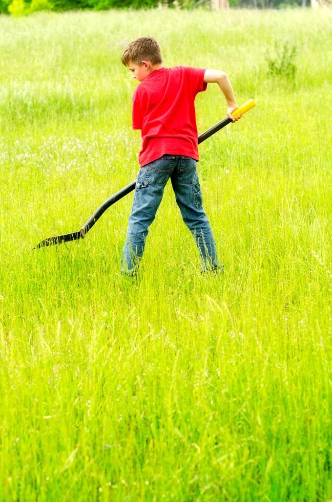 Gro Something Greater:  My Dad, My Boys & Gardening