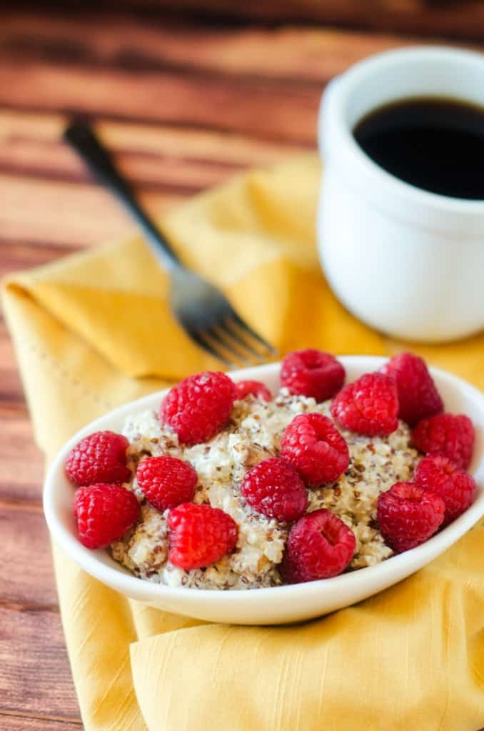 Peanut Butter Breakfast Quinoa