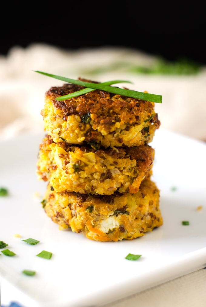 Pumpkin Quinoa Patties - WendyPolisi.com