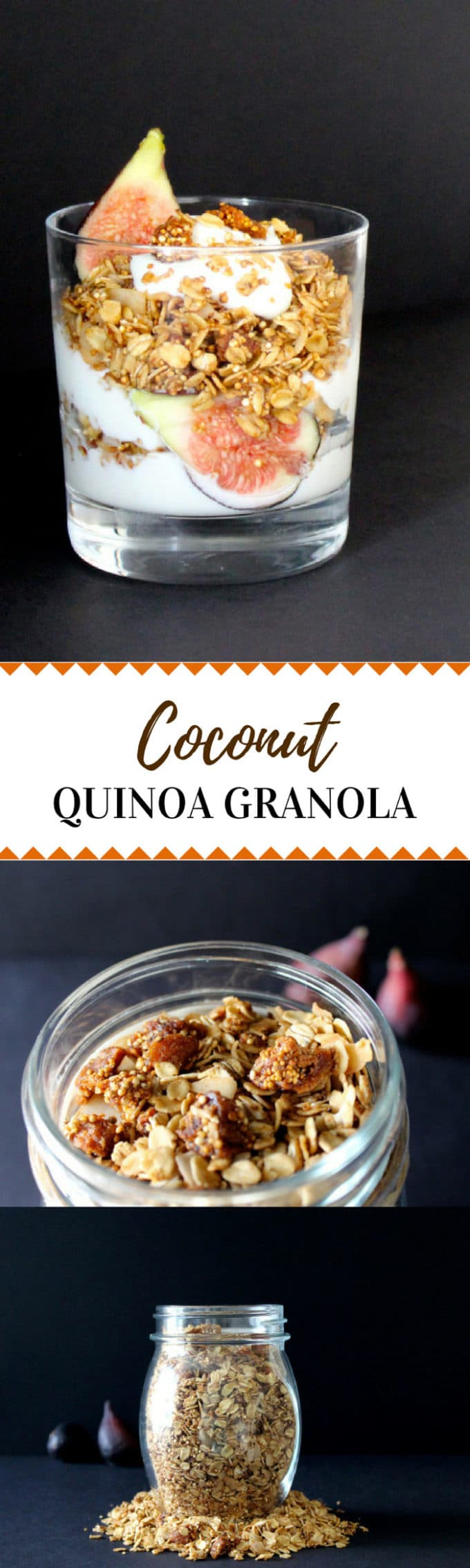 This coconut quinoa granola is a delicious and healthy way to start your day!  Perfect for family travel or busy on-the-go mornings! Plus, learn how you can get a coconut oil free from Thrive Market!