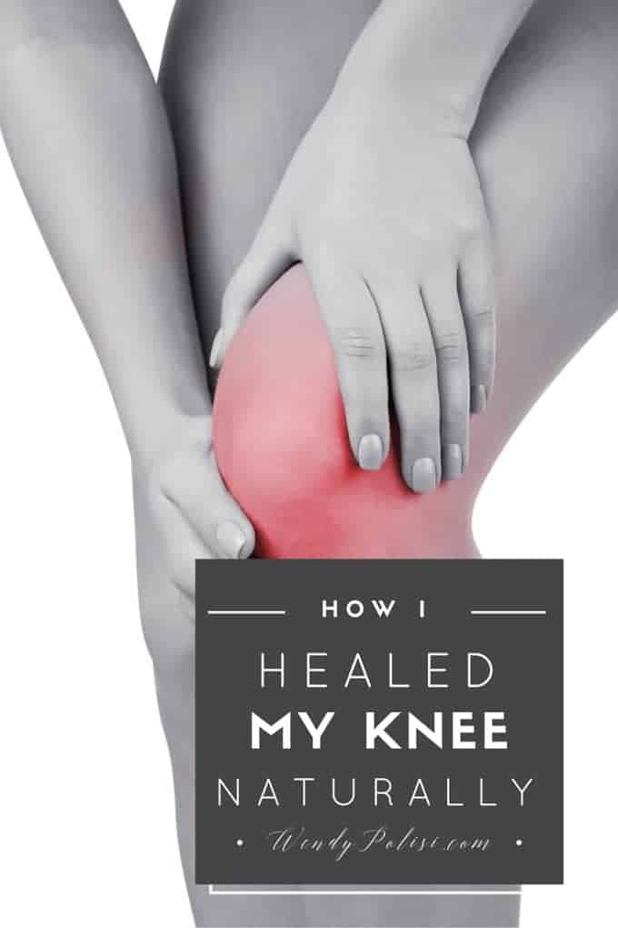 How I Healed My Knee Naturally and Avoided Surgery - I've gotten emails with questions about how I healed my knee injury naturally ever since this post was shared in 2014. Since then, I've re-injured, recovered and now my husband is recovering from the same injury. I thought I would take a moment to update this post and share what I've learned about how you can heal a knee injury naturally.. Please note that this is my personal experience and not intended to me medical advice. Always consult your health practitioner.