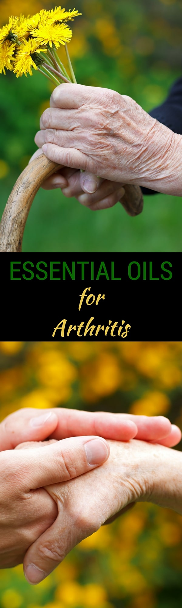 Learn how to use Essential Oils for Arthritis Pain in your hands, knees, hip, feet, neck and more.  With recipes to help you combat inflammation and pain naturally, don't miss these home remedies for arthritis.  #arthritis #pain #essentialoils #naturalremedies