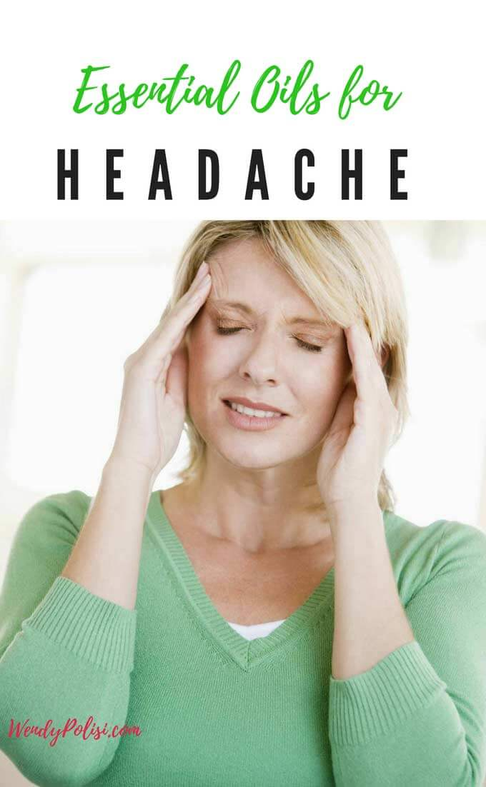 Headache pain is no fun, but thank goodness there are essential oils for headaches. If you suffer from migraine headaches or tension headaches, here is what you need to know about essential oils for headache relief.  Check out these recipes.  #essentialoils #headache #headacherelief