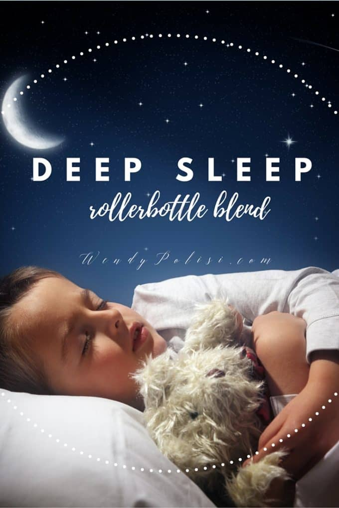 Did you know that essential oils can have a profound impact on how you sleep? Try this Deep Sleep Rollerball Blend and find out how effective they are. - WendyPolisi.com