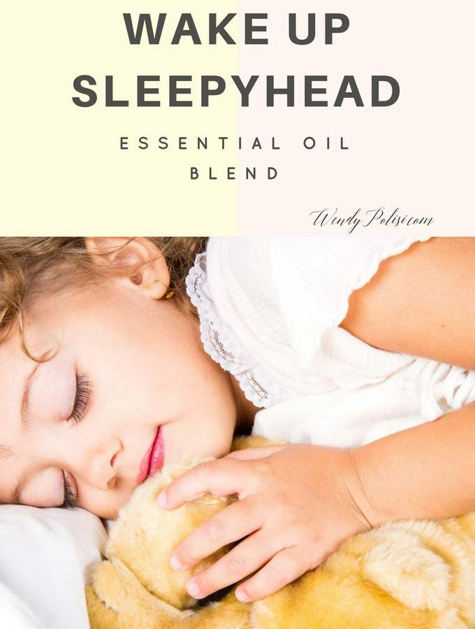 Wake Up Sleepyhead Essential Oil Spray