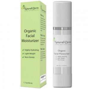 NaturaliDerm Organic Facial Moisturizer Review
