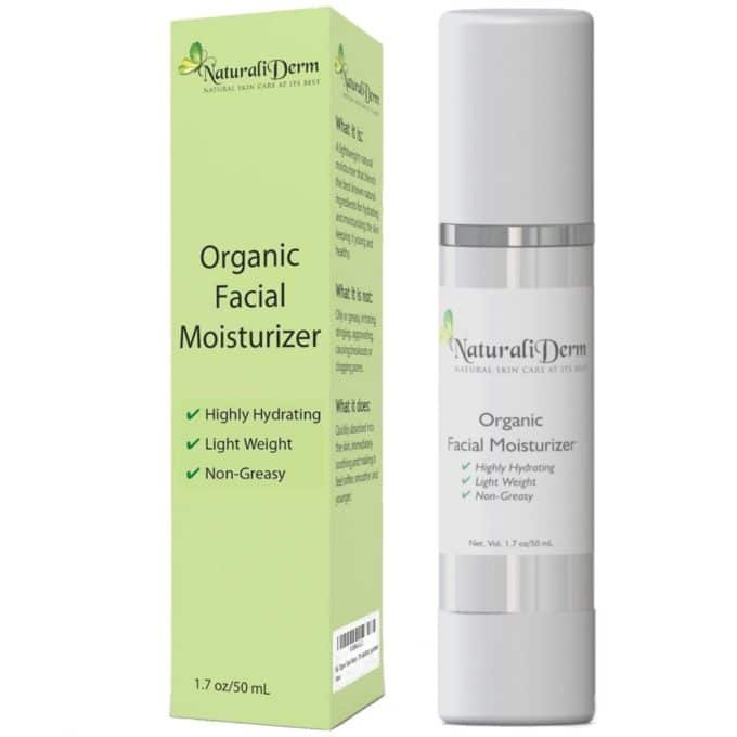 NaturaliDerm Organic Facial Moisturizer Review