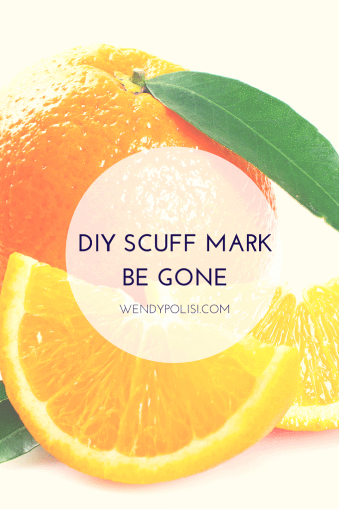 DIY Scuff Mark Cleaner