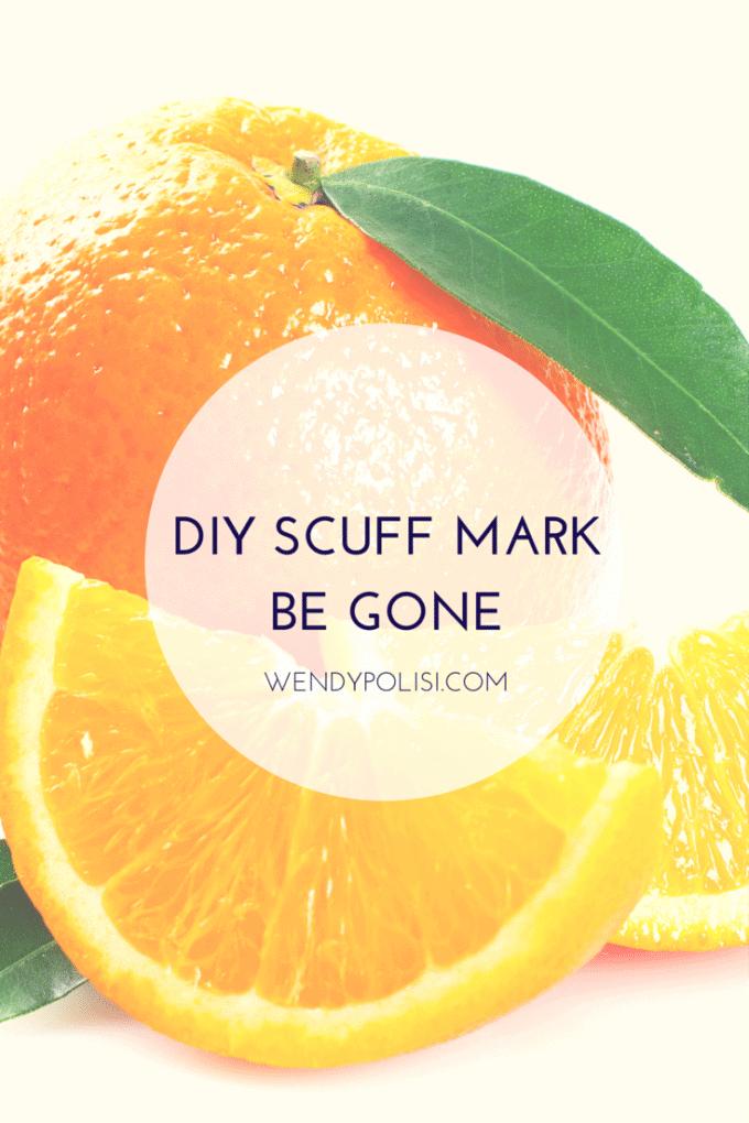 DIY Scuff Mark Cleaner