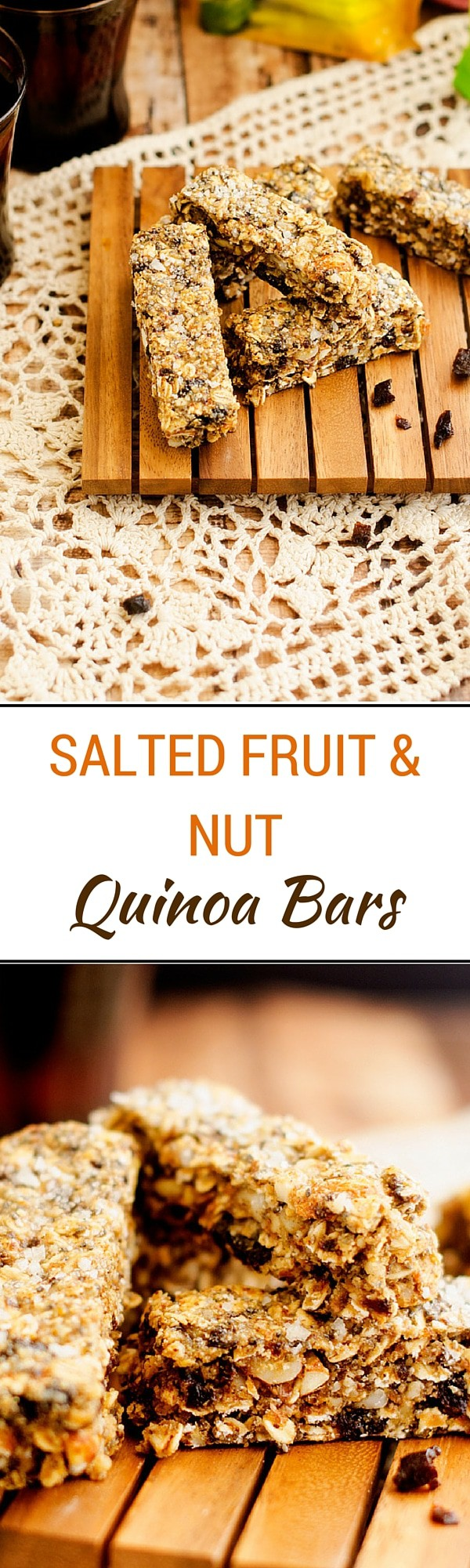 Salted Fruit and Nut Quinoa Bars