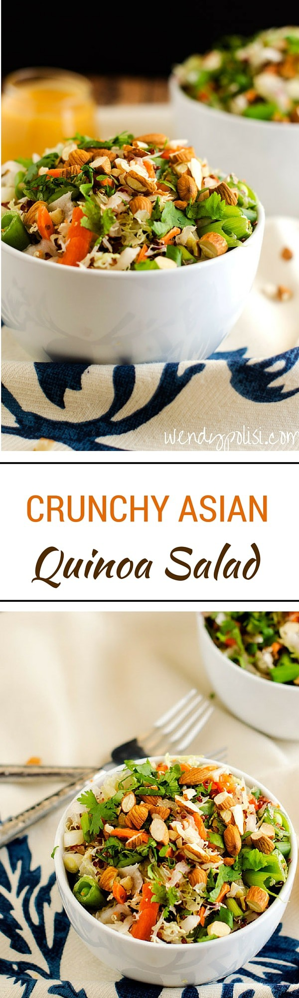 Crunchy Asian Quinoa Salad