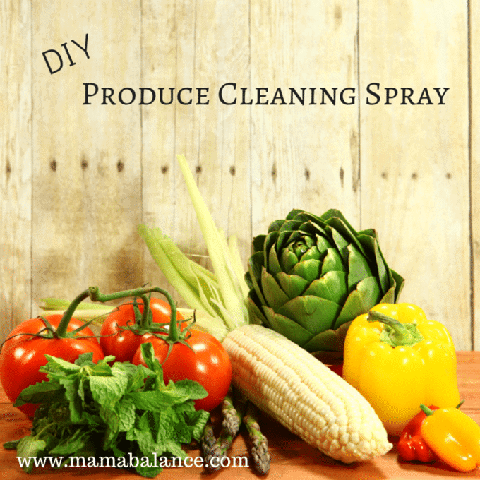 DIY Produce Cleaning Spray