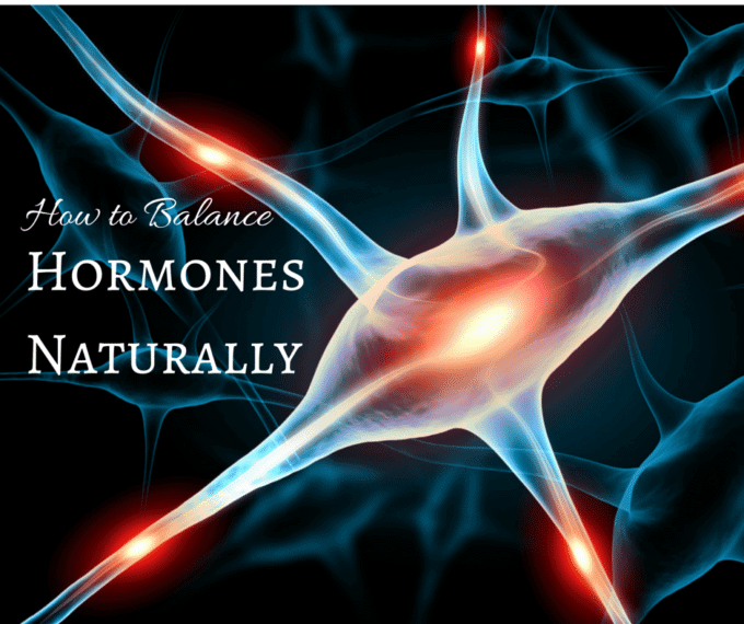 Photo of cells that says How to Balance Hormones Naturally - Essential Oils for Hormone Balance