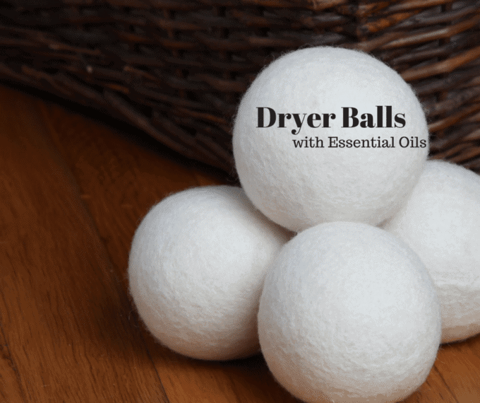 DIY Dryer Balls with Essential Oils
