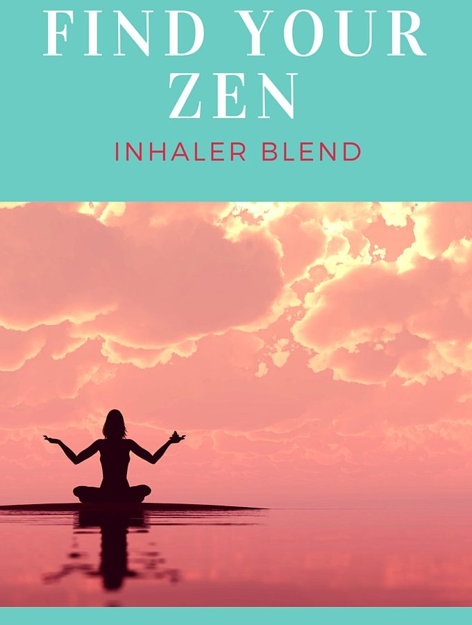 Find Your Zen Inhaler Blend