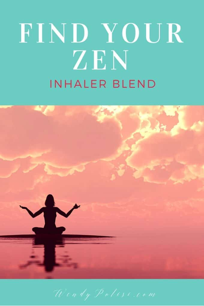 Find Your Zen Inhaler Blend p