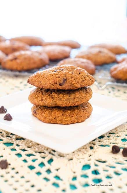 Quinoa-Flax Chocolate Chip Cookies