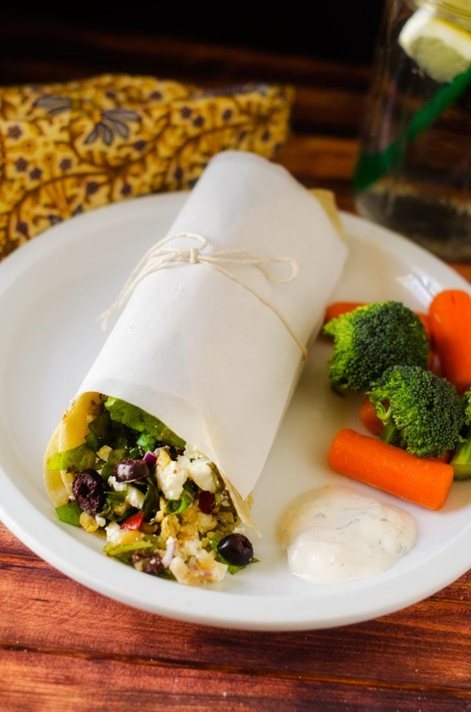 greek-salad-wrap