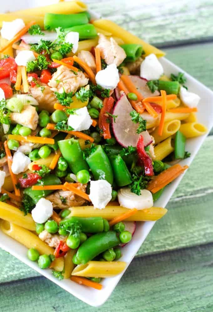 Spring Pasta Salad - Wendy Polisi