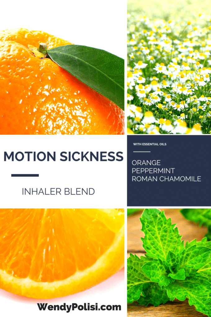 Motion Sickness Inhaler Blend with Essential Oils- WendyPolisi.com