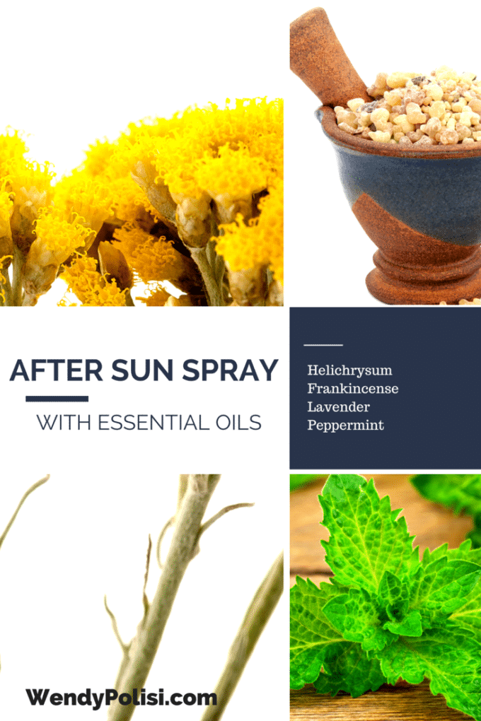 DIY After Sun Spray with Essential Oils
