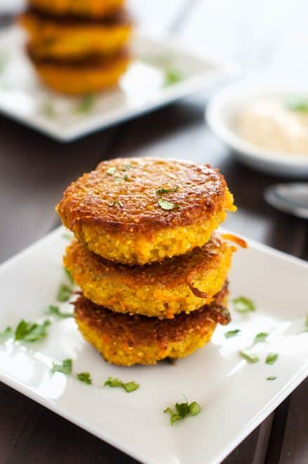 Curried Sweet Potato Quinoa Patties - WendyPolisi.com
