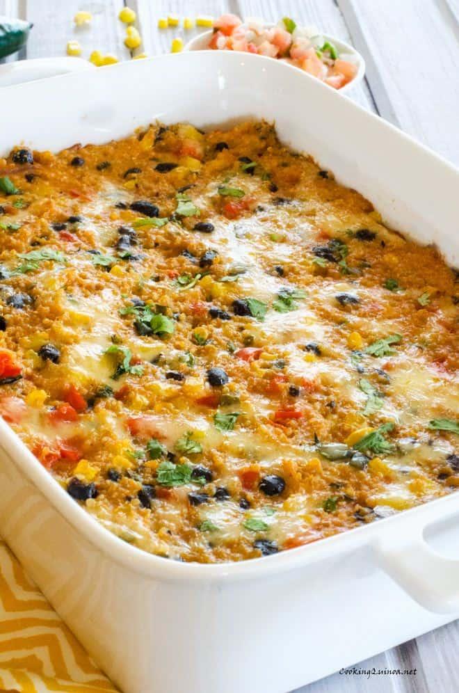 Fiesta Quinoa Casserole