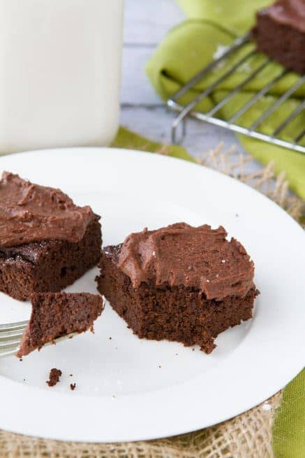 Quinoa Brownies - Wendy Polisi