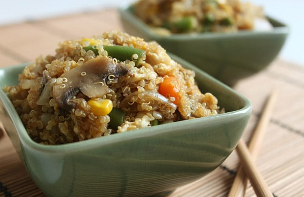 Quinoa Fried 'Rice'