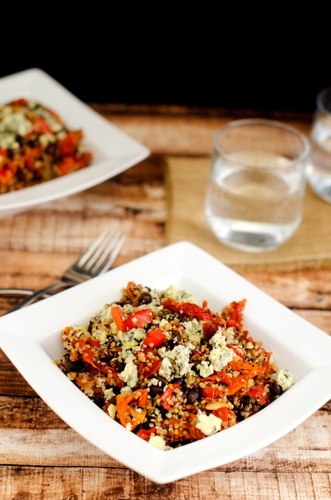 Balsamic Quinoa Salad