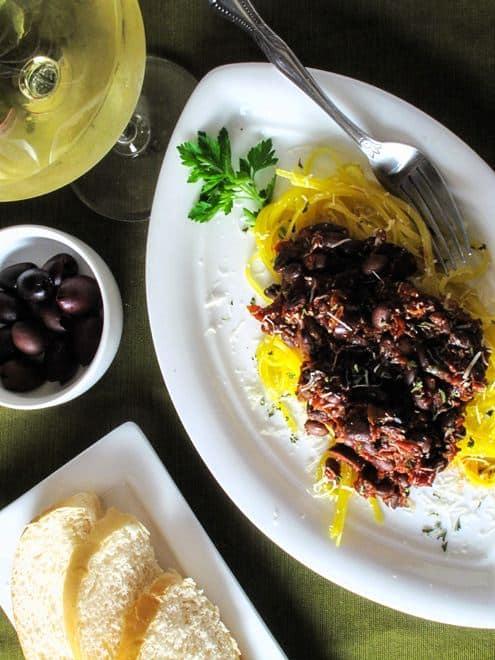 Black Bean Quinoa Spaghetti - Vegetarian with Vegan Option and Gluten Free - WendyPolisi.com