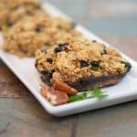 blueberry-pecan-goat-cheese-quinoa-stuffed-portobello-mushroom-caps23