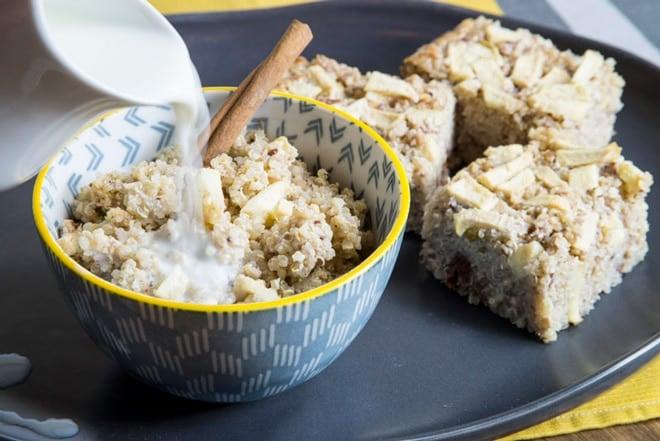Baked Breakfast Quinoa - WendyPolisi.com