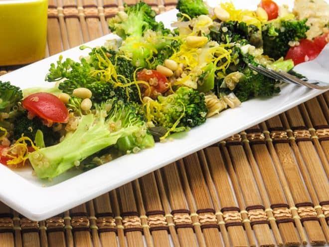 Broccoli Quinoa Salad - WendyPolisi.com