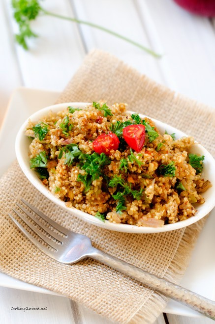 Cajun Quinoa Pilaf - WendyPolisi.com