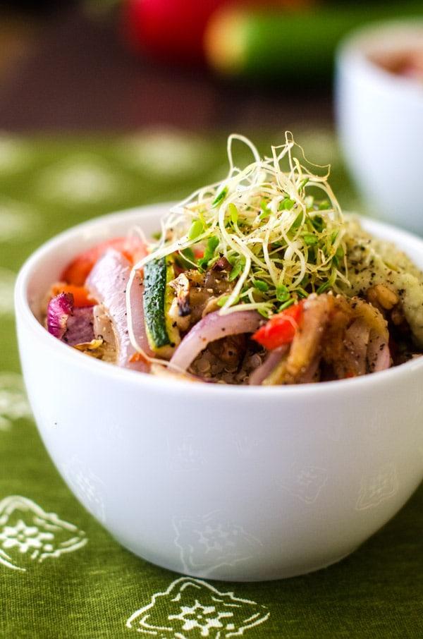California Quinoa Bowl - WendyPolisi.com