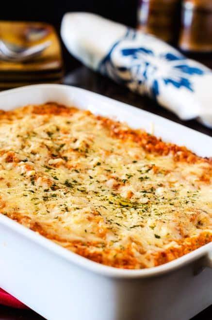 Cheesy Tomato Quinoa Casserole - WendyPolisi.com