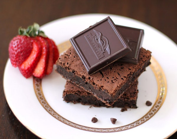 Fudgy Black Bean Quinoa Brownies - WendyPolisi.com
