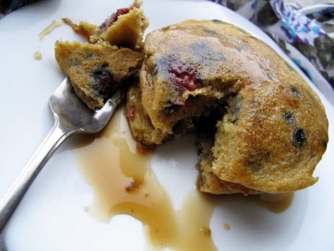 Lemon Raspberry Quinoa Pancakes (Vegan, Gluten-free, Sugar ...