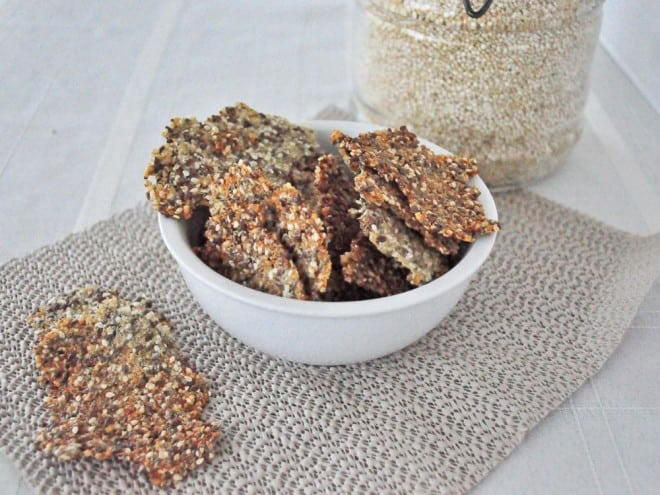 Copycat Mary's Gone Crackers - Vegan & Gluten Free